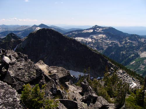 Looking South From North Twin Peak