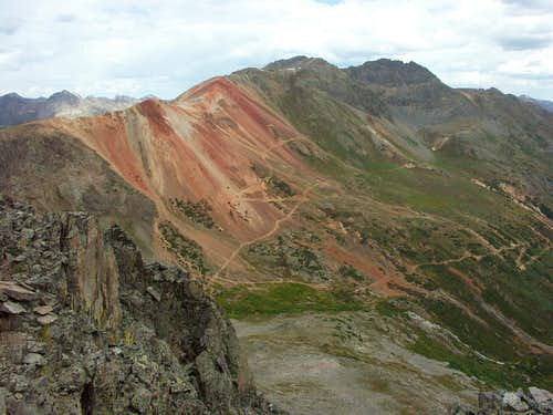 Red Mountain, Chaffee County, Colorado