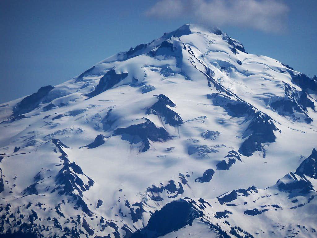 Glacier Peak From Spire Pass