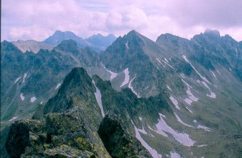 The steep sided, narrow and...