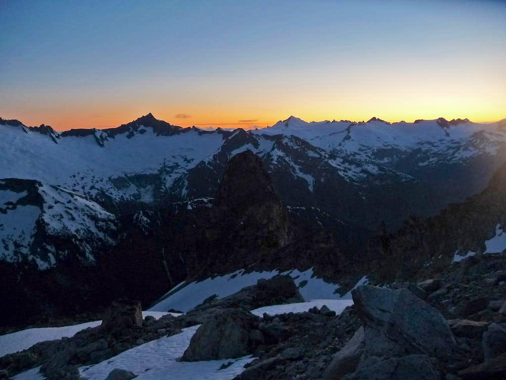 Evening on Mount Logan