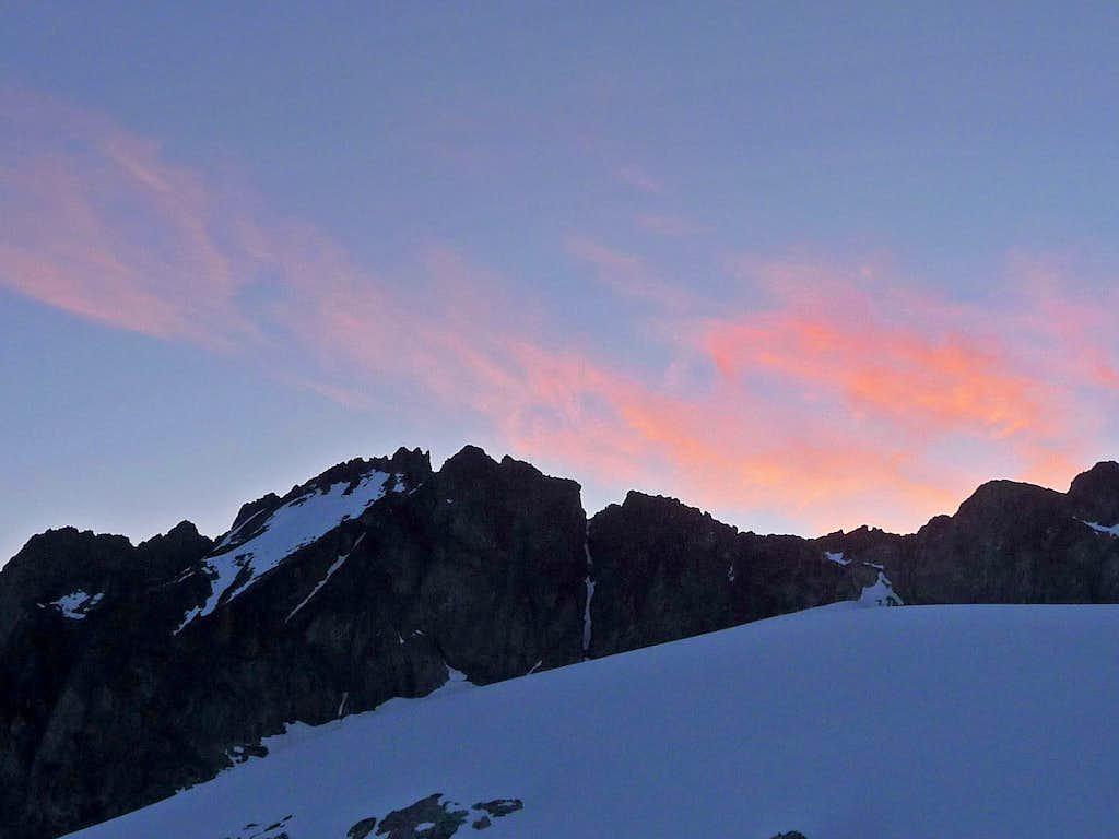 Morning on Mount Logan