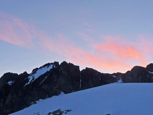 Morning on Mount Logan