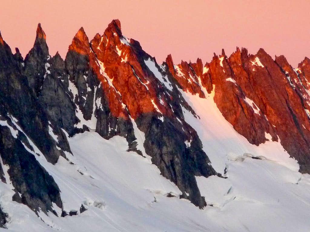 Sunrise on Ripsaw Ridge