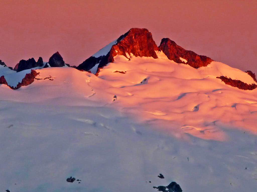 Sunrise on Klawatti Peak