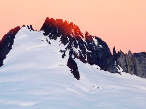 Sunrise on Boston Peak