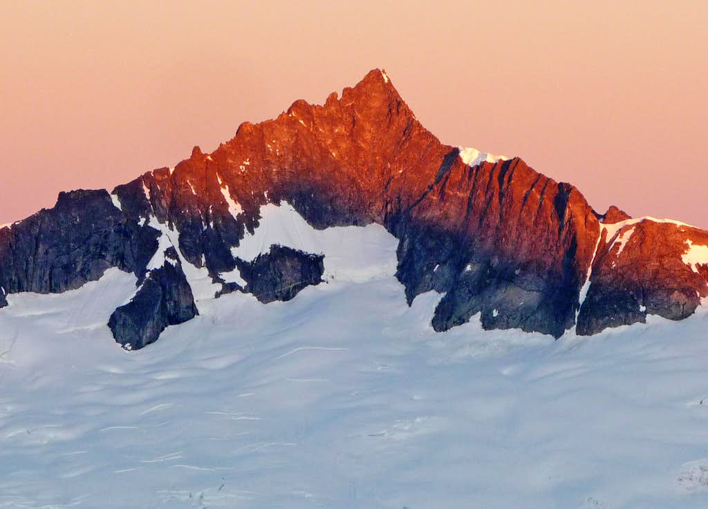 Forbidden Peak during Sunrise