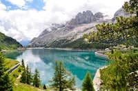 Fedaia lake