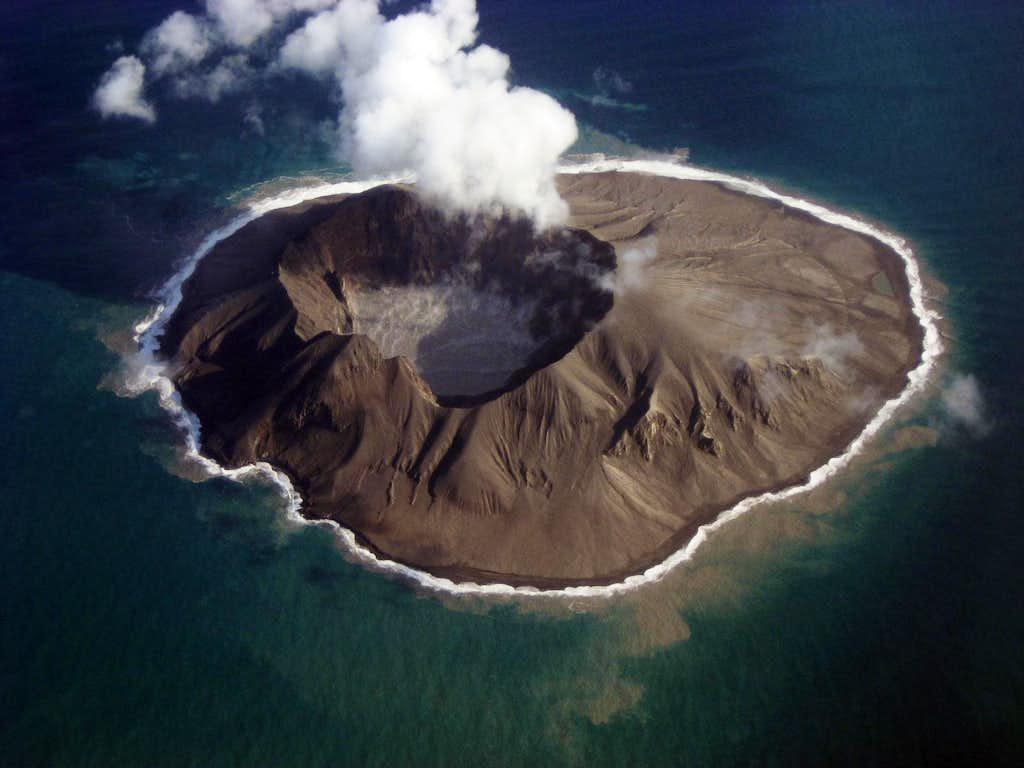 Kasatochi Volcano, post eruption
