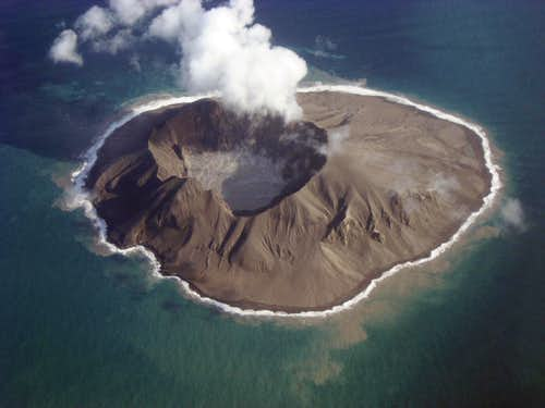 Kasatochi Volcano, post eruption