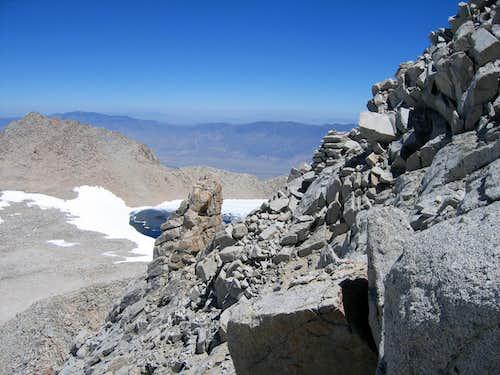 On Russell's North ridge