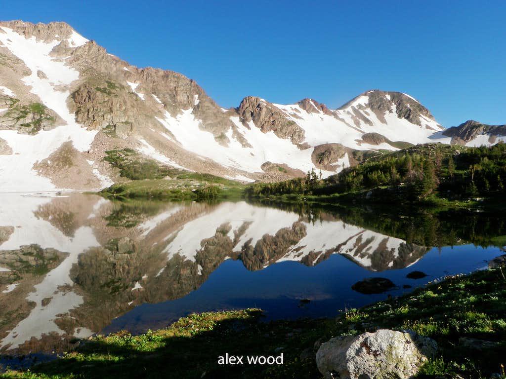 Island Lake Reflection