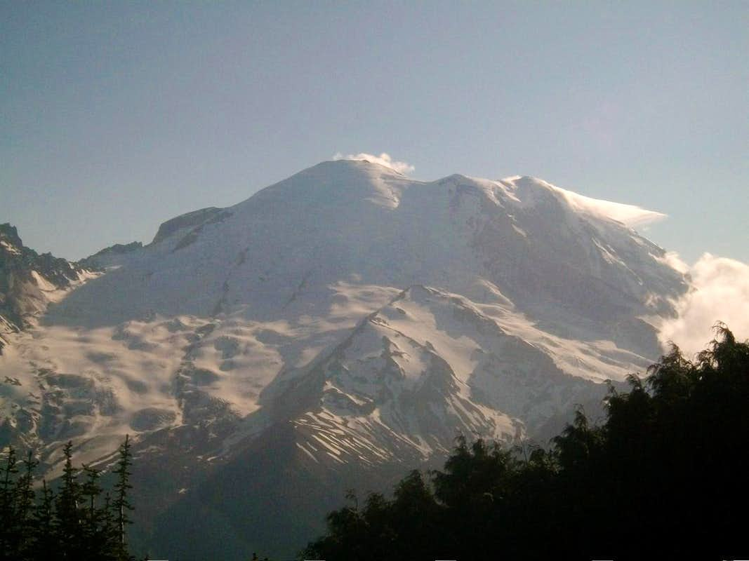 Closeup of Rainier