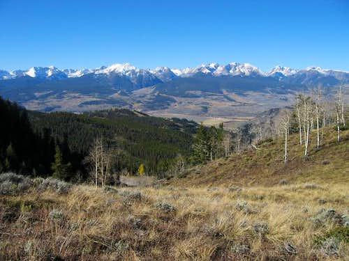 Keller Mountain to Eagles...