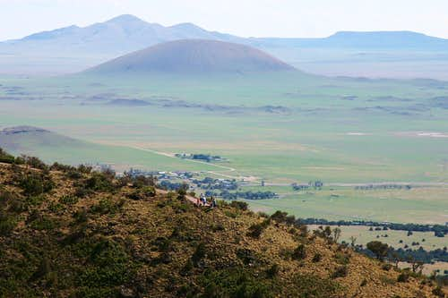 View from Capulin Volcano Rim Trail