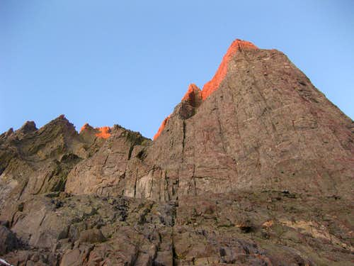 Lower Buttress of Temple Crag