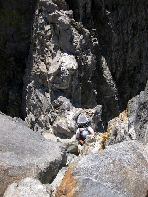 past Lower Buttress