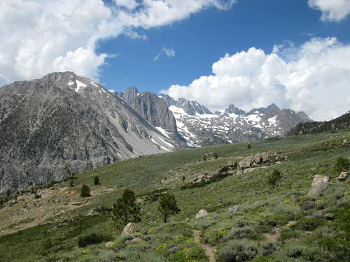Palisades from High Meadow