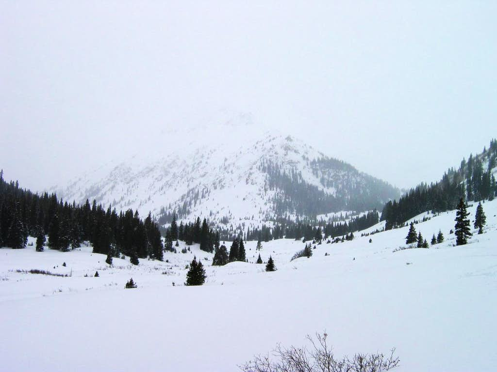 Middle Mountain in the Snow