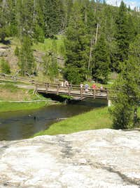 Bridge over the Firehole River