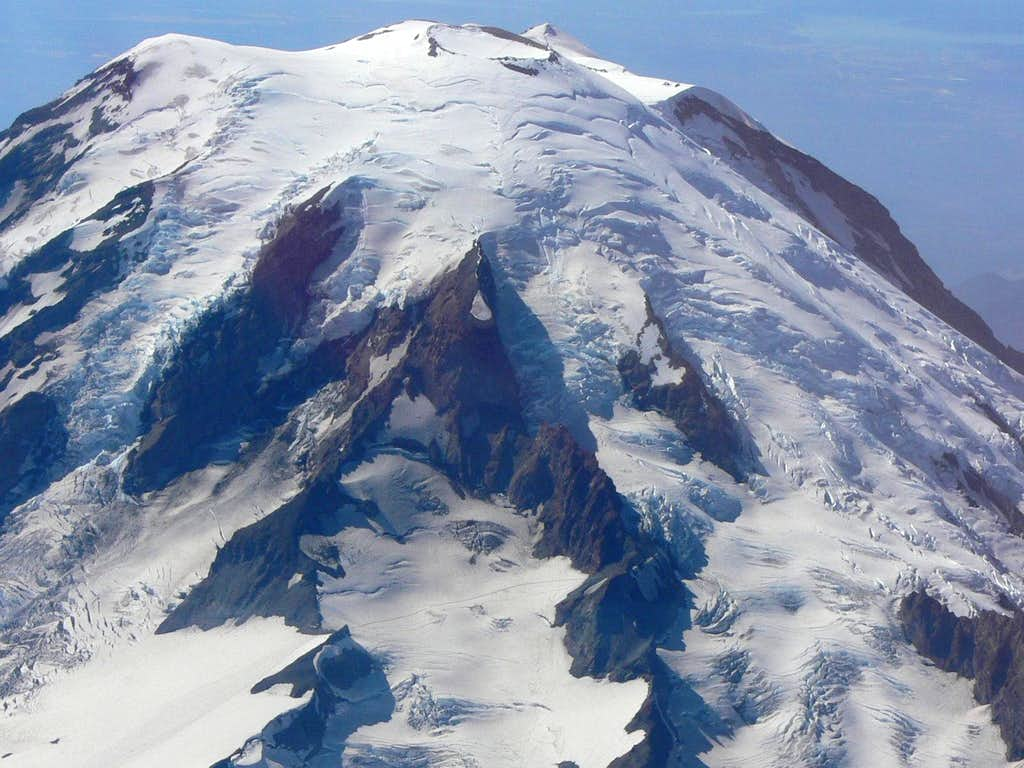 Cowlitz Glacier of Mount Rainier