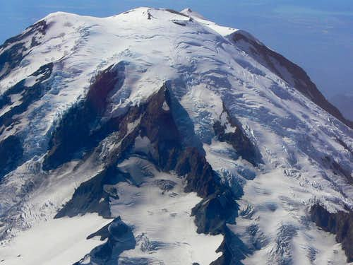 Cowlitz Glacier of Mount Rainier