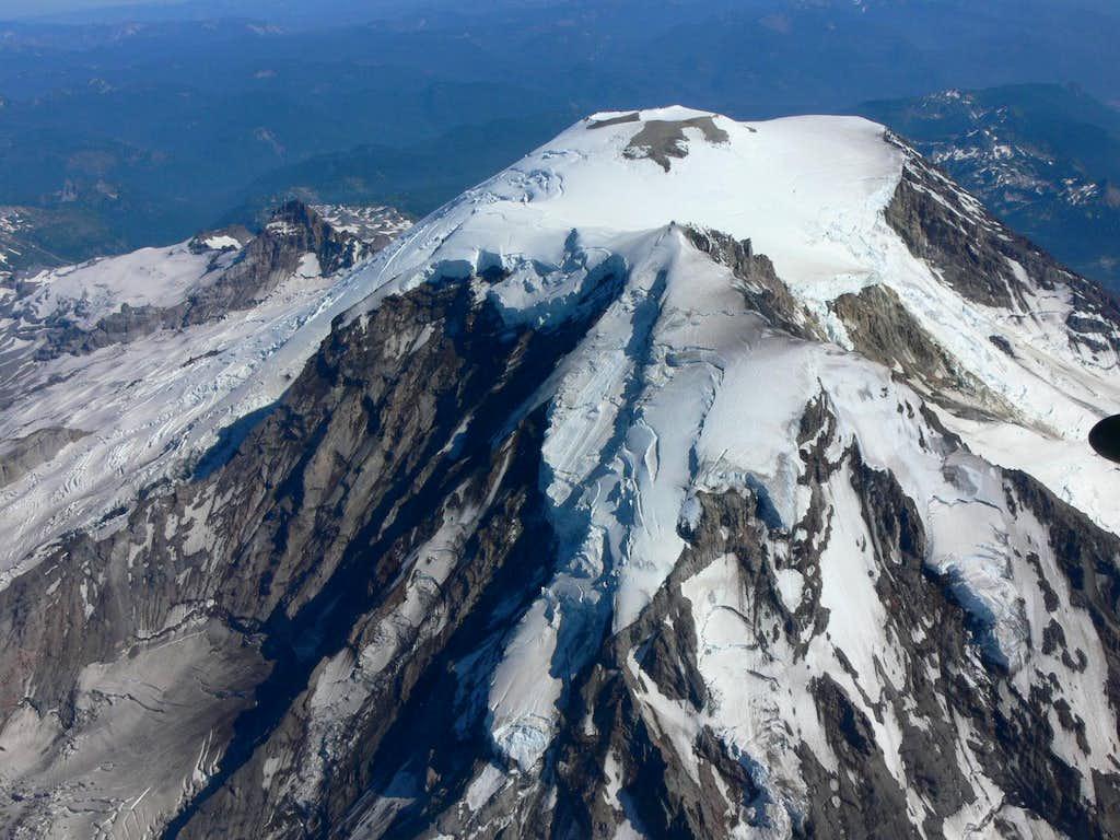 Kautz, Nisqually, and Ingraham Glaciers