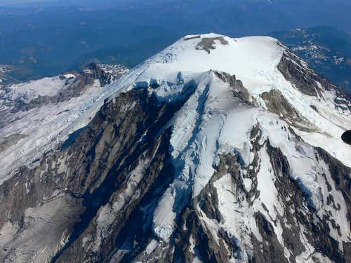 Kautz, Nisqually, and Ingraham Glaciers