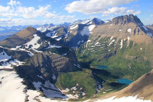 A Taste of Paradise in Glacier National Park: Garden Wall to Point 8,479