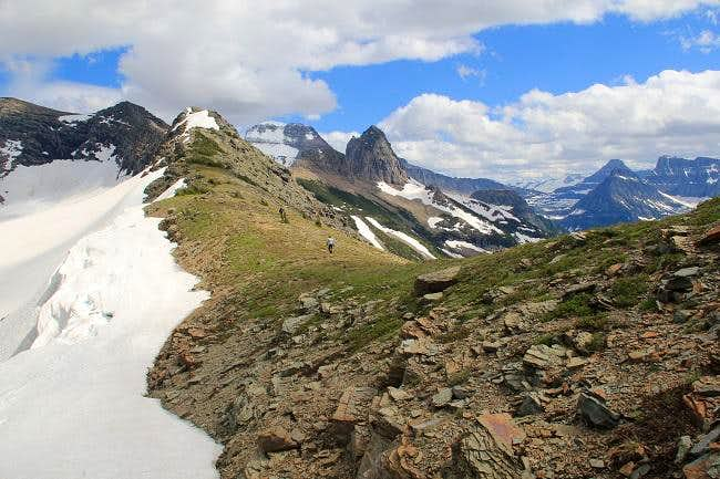 A Taste Of Paradise In Glacier National Park Garden Wall To Point 8 479 Trip Reports Summitpost