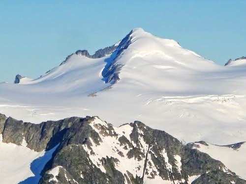 Eldorado Peak from Mount Logan