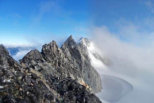 Mount Logan\'s South Ridge