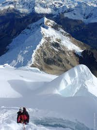 Top of NW Ridge