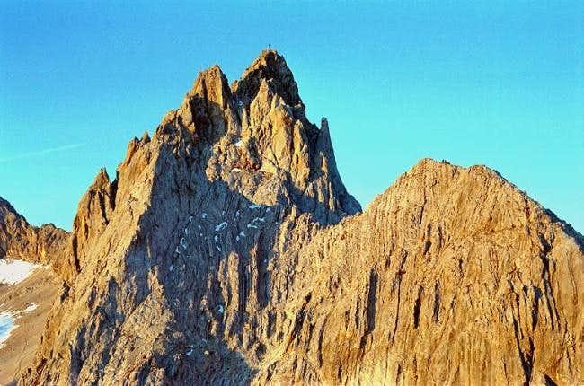 View of Dreitorspitze (2633...