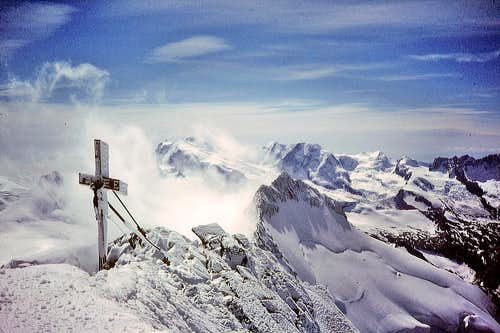 Summit of the Dom 4545m
