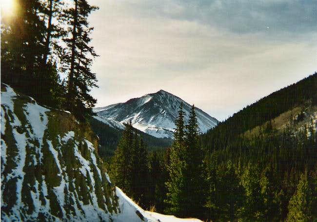 11/24/03: Torreys Peak from...