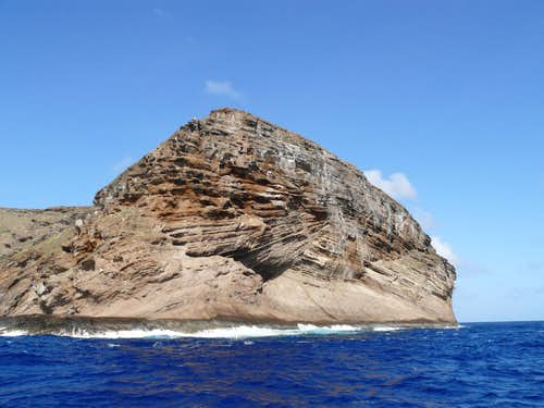Kaula Rock, from the northeast
