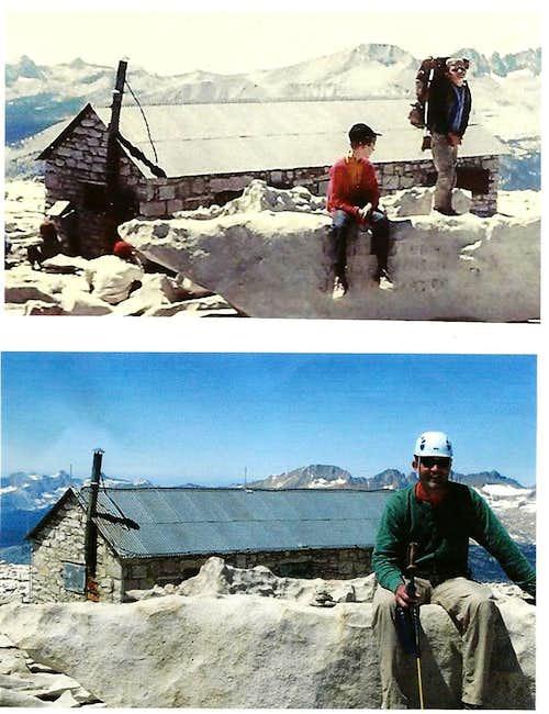 summit shots - 38 years apart