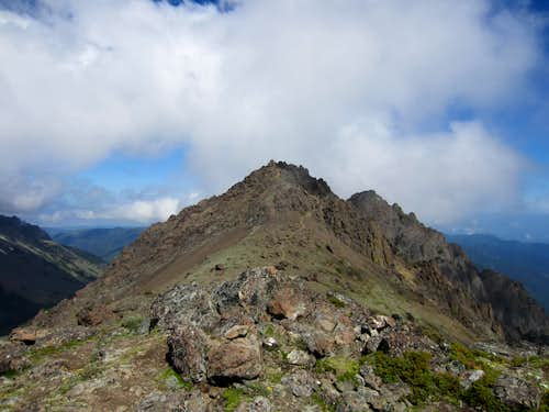 SW summit via Marmot Pass