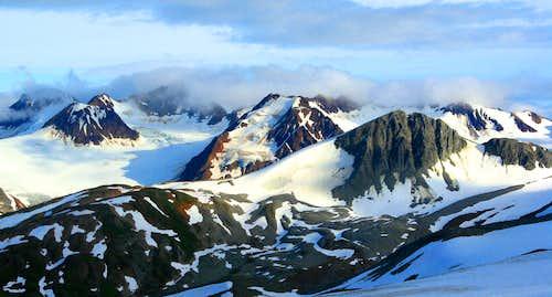 Un-named Peaks, Alaska