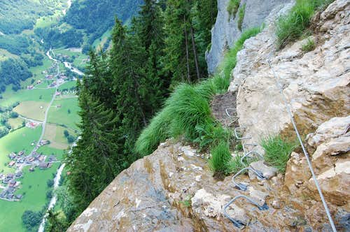 Murren-Gimmelwald Via Ferrata