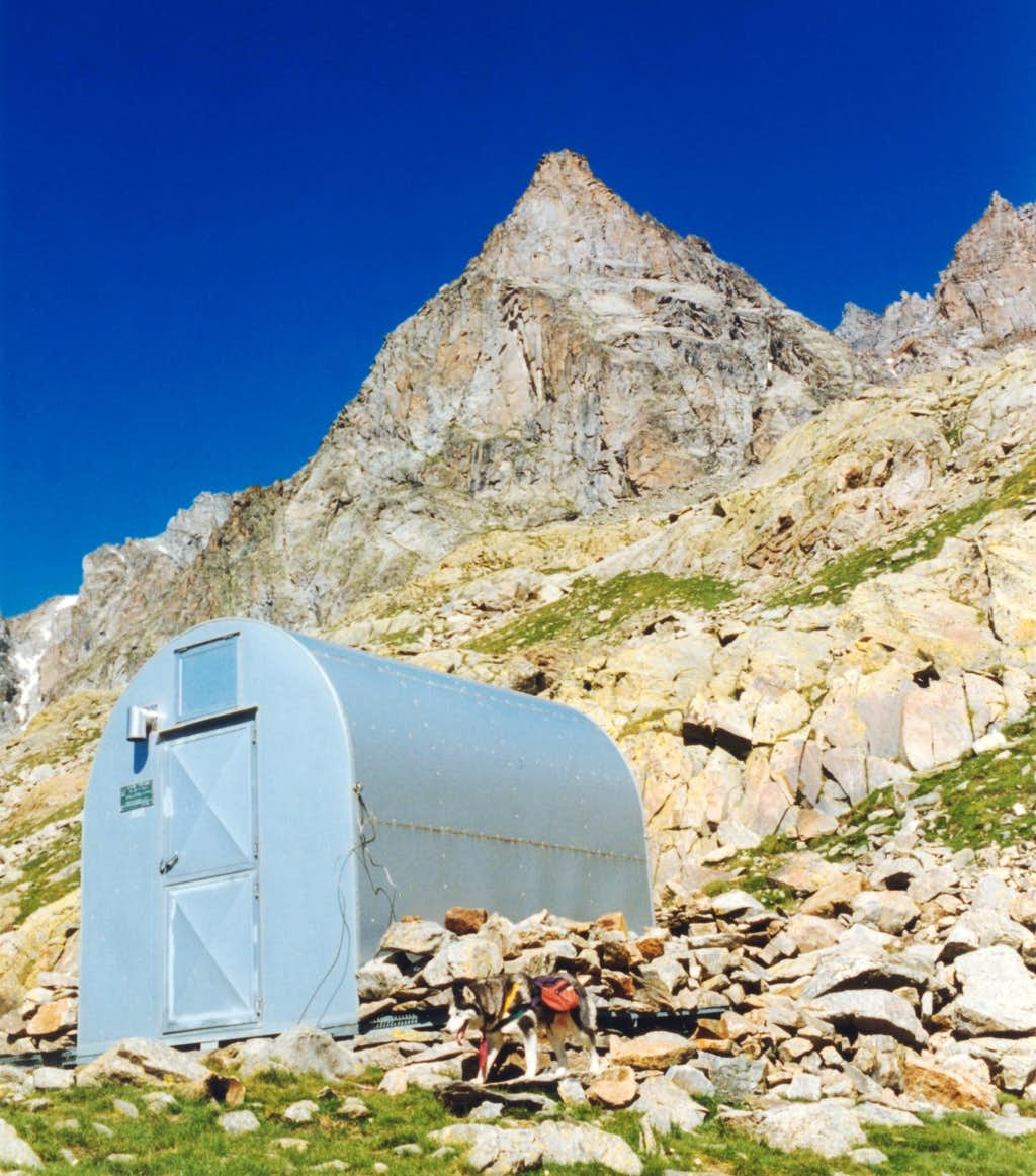 Monte Nero seen from Bivacco Carpano (Southern Gran Paradiso)