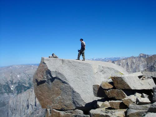 Eagle Scout Peak Summit Block