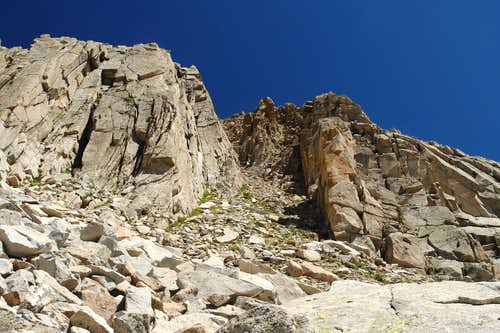 Looking up the Access Gully