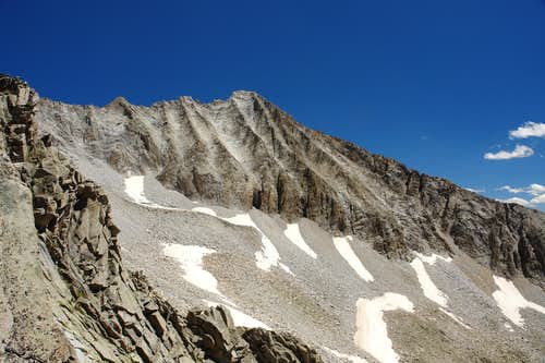 West Face of Hagerman Peak