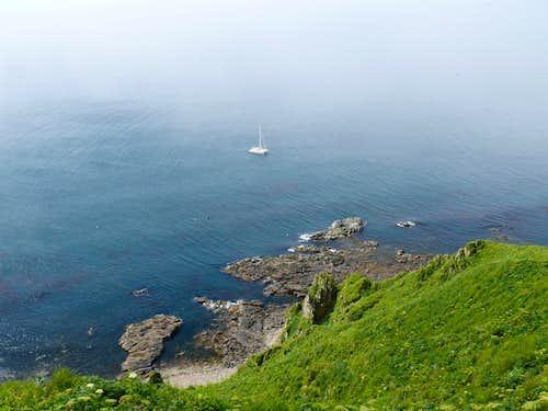 The Minnow (and a kayak), Amagat Island