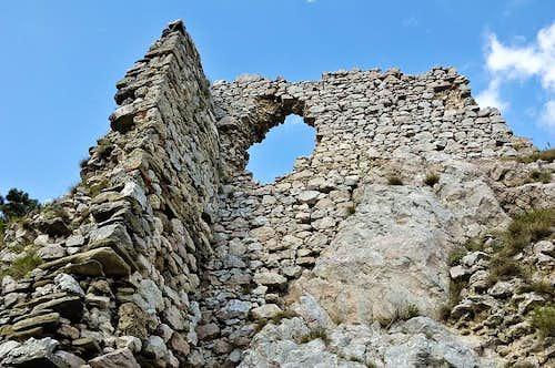 Ruins of Vršatec castle