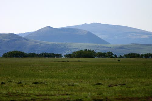 Capulin Volcano from Johnson Mesa