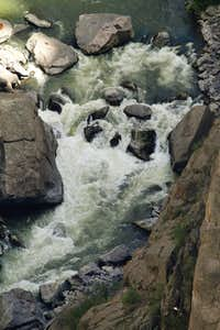 Rough Waters in Black Canyon of the Gunnison