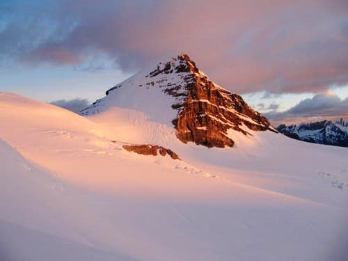 Mt. Brazeau first light
